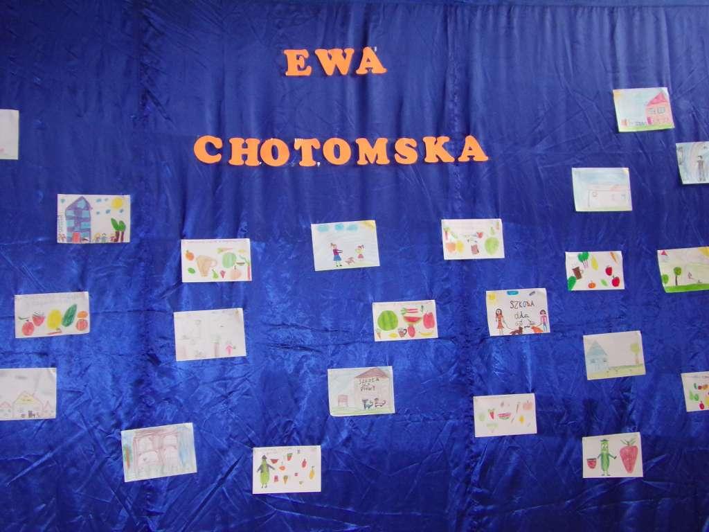 2019.03 – Spotkanie autorskie z Ewą Chotomską