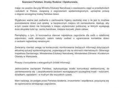 pismo MKO do rodziców i opiekunów 12.03.2020-1