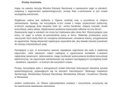 pismo MKO do uczniów 12.03.2020-1
