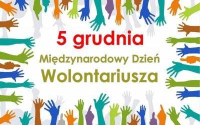 5 grudnia – Dzień Wolontariusza
