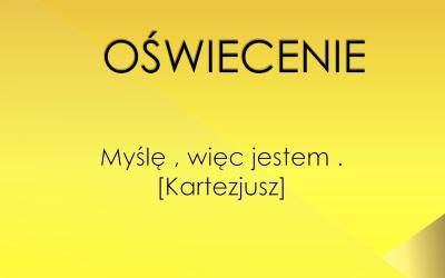 Kultura polskiego oświecenia