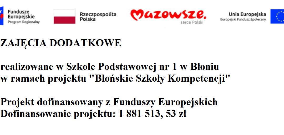 Błońskie Szkoły Kompetencji