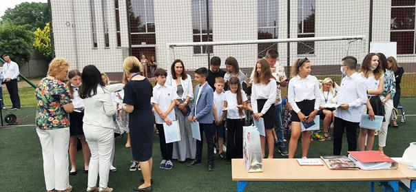 Zakończenie roku szkolnego 25.06.2021 r.